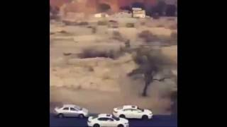 الحوثي طلب 10 أفرد شرطه شوفو وش جاه المملكة العربية السعودية كفوووو😂