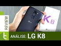 Análise LG K8   Review do TudoCelular.com