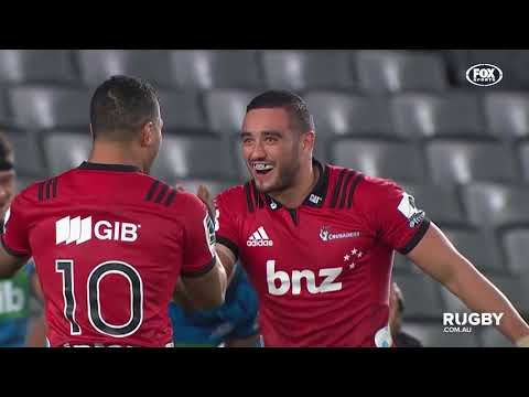 2018 Super Rugby Round 14: Blues vs Crusaders