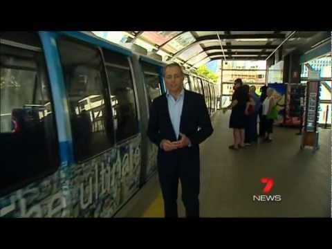Seven News Sydney - Sydney Monorail to be torn down (23/3/2012)