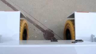 Valla 50E tire movement