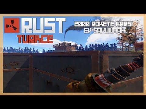 Rust Türkçe - 2000+ Roket ve C4'e Karşı Ev Savunmak  Bölüm #185