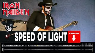 Iron Maiden - Speed Of Light (Guitar Cover by Masuka W/Tab)