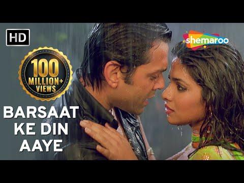 Barsaat Ke Din Aaye  Barsaat 2005  Bob Deol  Priyanka Chopra  Rain Song  Filmigaane