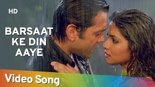 Download Barsaat Ke Din Aaye | Barsaat (2005) | Bobby Deol | Priyanka Chopra | Rain Song | Filmigaane