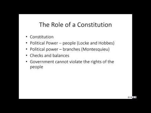The Constitution part 1