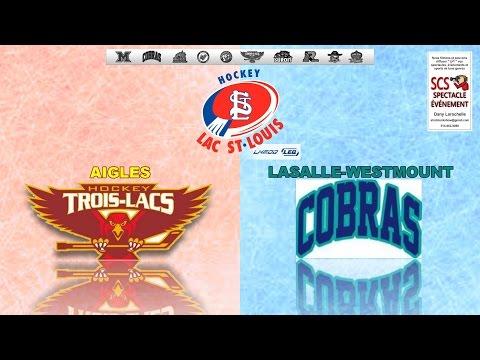 ATOME AA - AIGLES de Trois-Lacs VS COBRAS de Lasalle-Westmount