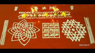 Friday Pooja Room Kolams     Hridhaya Kamalam    Kubera Kolam    Aiswarya Kolam