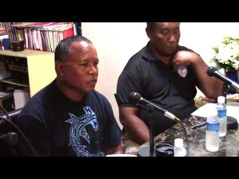 Talk show w/ Ngarchelong State Governor and others - 8/18/17