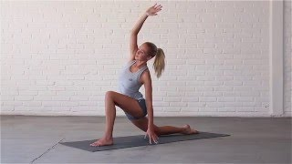 Yoga: How To Do Low Lunge With Sidebend