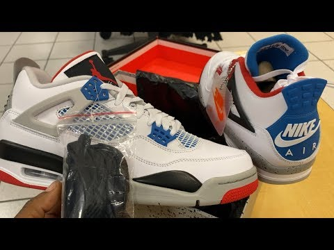 """WHAT THE"" AIR JORDAN 4'S HAVE INSANE LEATHER QUALITY 👀🔥🔥 EARLY REVIEW VLOG"