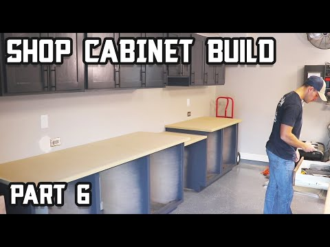 How to Build Ultimate Shop Cabinets - Part 6!