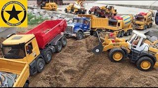 BRUDER Toys Tunnel Project X HEAVY GEAR CAT Monster-Bulldozer D11 TRUCKS BACKHOE