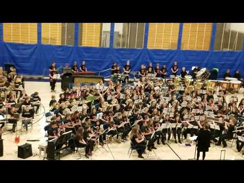 Ken Caryl Middle School Don't Stop Believing 1/22/18