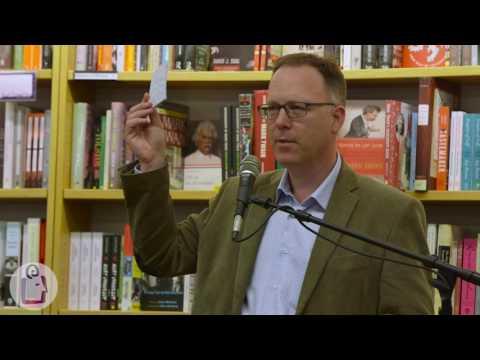 Garth Nix introduces Goldenhand at University Book Store - Seattle
