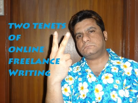 Two Critical Tenets Of Online Freelance Writing