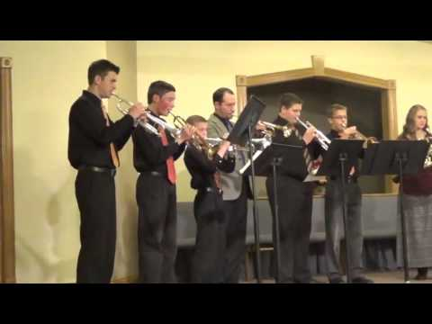 The God of Abraham Praise by Kettle Moraine Baptist Academy Brass Master Class