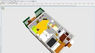 Проект дома 6 на 10 в 3D