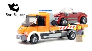 Lego City 60017 Flatbed Truck - Lego Speed Build thumbnail