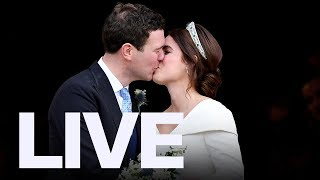 LIVE: Royal Wedding Of Princess Eugenie And Jack Brooksbank