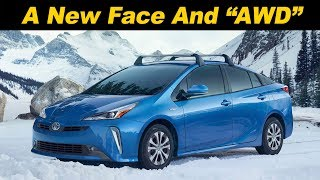 "2019 Toyota Prius - Now With ""AWD"""