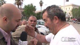 Scontri tra abusivi e polizia: i testimoni