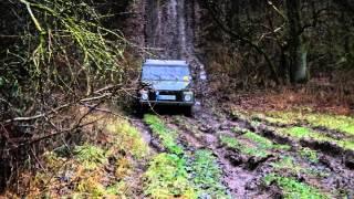 VW 181 Kübel kommt durch, wo Wolf und Unimog...  :-) Heimvorteil?!