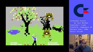 Forbidden Forest (C64) - Facebook Livestream