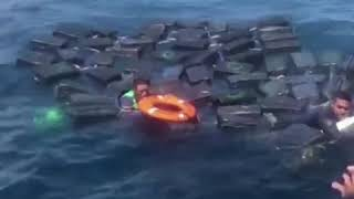 哥伦比亚毒贩遇沉船事故 获军方解救