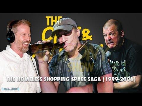 Classic Opie & Anthony: Homeless Shopping Spree Saga, XM (12/20/05, 12/16/06)