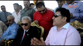 وزير الري يتفقد مشروع حماية أشتوم الجميل غرب بورسعيد