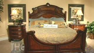 Solid Wood Chestnut Finish Bedroom Set, 'repertoire' Collection By Fairmont Designs