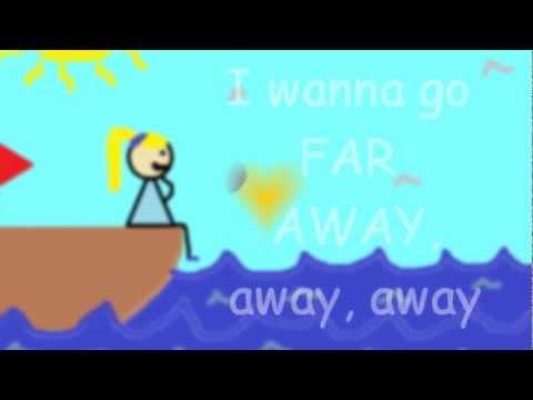 Far Away- Ingrid Michealson (LYRIC VIDEO)