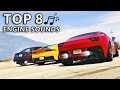 GTA V - Top 8 Best Engine sound Cars