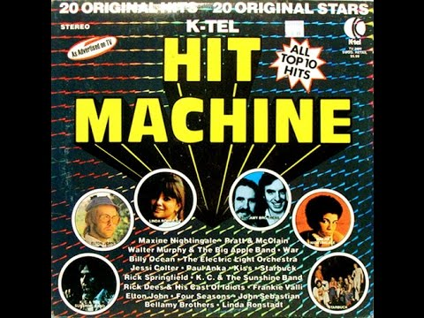 The K-tel Commercials Collection! 38 Original TV ads! Original Stars! Watch It Today!
