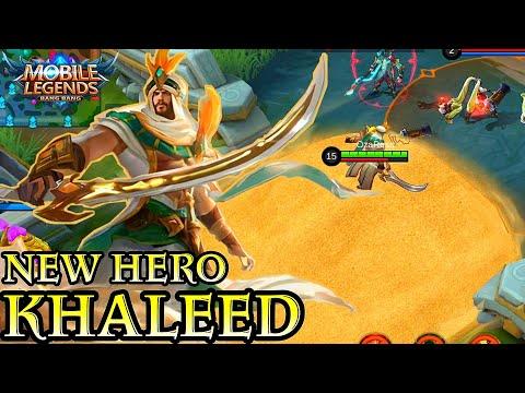 New Hero Khaleed Short Gameplay - Mobile Legends Bang Bang