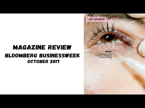 Magazine Review - Bloomberg Businessweek October 2017