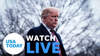 President Donald Trump is reportedly headed to Walter Reed hospital (LIVE)   USA TODAY