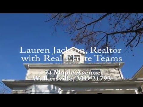 54 Maple Avenue, Walkersville, MD-  Realtor Lauren Jackson