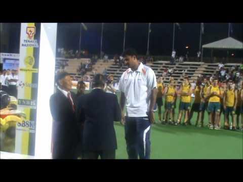 Best Goalie of Azlan Shah Cup 2011 Kumar Subramaniam