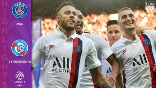 PSG 1 - 0 Strasbourg - HIGHLIGHTS \u0026 GOALS - 9/14/19