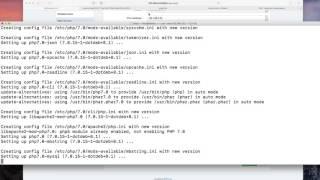 Debian 8.7 upgrade von PHP 5 auf PHP 7