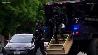 Bellevue police make arrests in looting incidents
