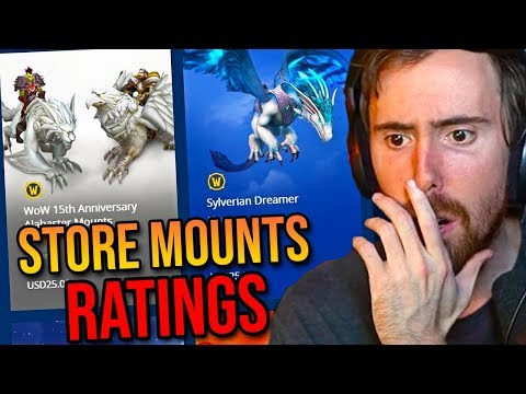 Asmongold Rates WoW Store Mounts & More (Livestreamfail, Faerlina Announcement)