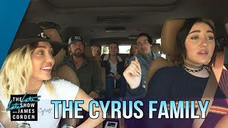 Miley Cyrus Carpool Karaoke (Apple Music)