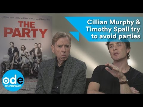The Party: Cillian Murphy & Timothy Spall try to avoid parties
