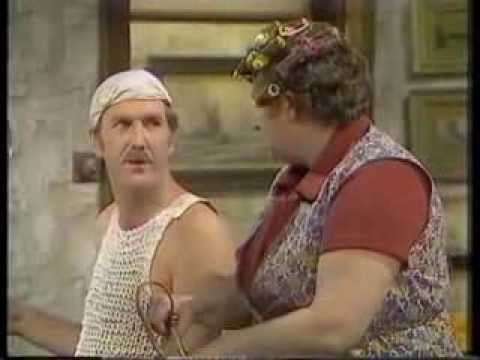 Russ Abbot as Wilf Bumworthy in 'Sir Wilf'