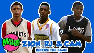 Zion, RJ & Cam BEFORE THE DUKE FAME - Duke Basketball Players when they were YOUNG