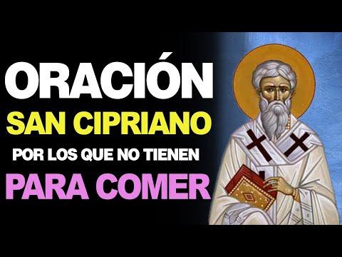 🙏 Oración a San Cipriano por los QUE NO TIENEN PAN PARA COMER 🥖 Poderosas Palabras