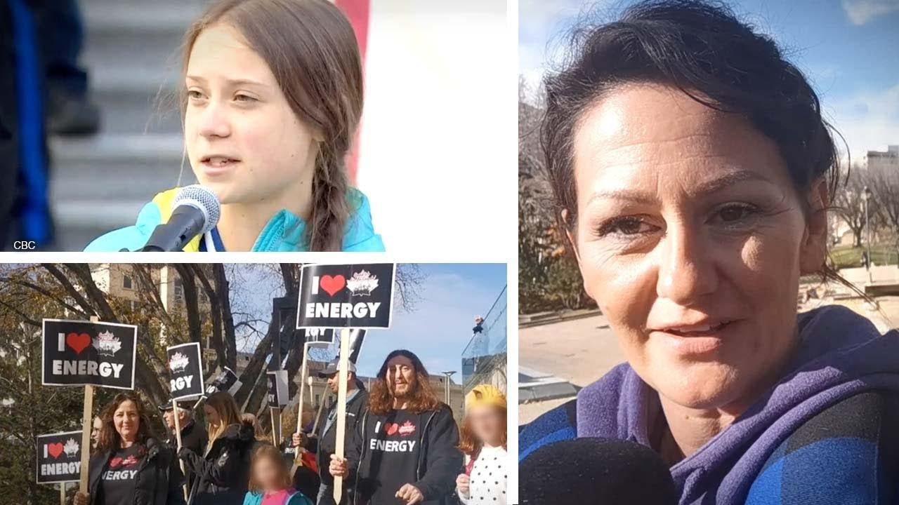 Greta Thunberg meets first real resistance during Alberta demonstration | Sheila Gunn Reid